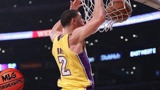 Lonzo Ball (8 pts, 13 reb, 4 ast) vs Bulls / Week 6 / LA Lakers vs Bulls