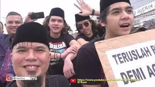 INSERT - Ribuan Pendukung Menyambut Kebebasan Ahmad Dhani (31/12/19)