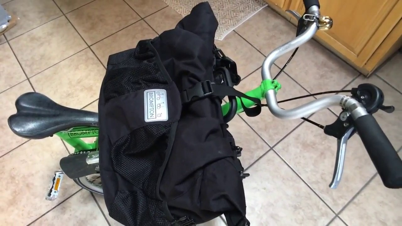 Brompton Tour Bag T Pannier Review For Folding Bicycle