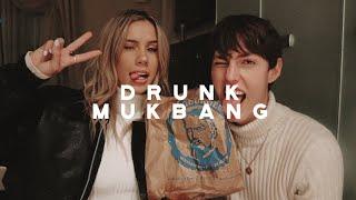 Fergburger DRUNK MUKBANG