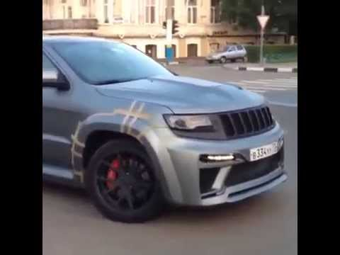 jeep grand cherokee srt8 2014 tuning youtube. Black Bedroom Furniture Sets. Home Design Ideas