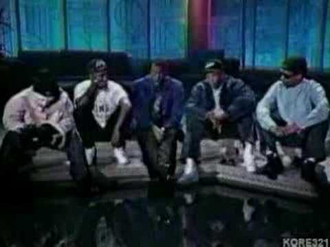 N.W.A On Arsenio Hall