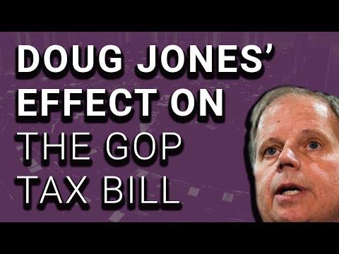 Dems: No Tax Bill Until Doug Jones is Seated in Senate