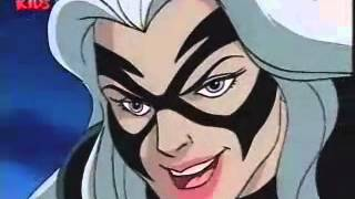 spiderman the animated series the black cat