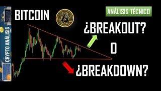 Bitcoin ¿BREAKOUT O BREAKDOWN?   Btc/Criptomonedas TRADING ANÁLISIS/NOTICIAS
