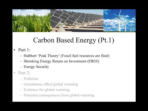 Carbon Based Energy (Part 1)