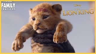 THE LION KING (2019) Trailer - Jon Favreau Disney Live Action Movie