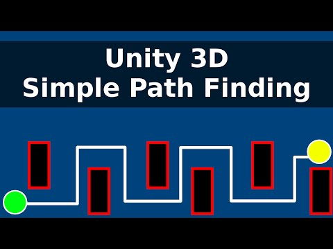 Unity 3D : Simple Path Finding