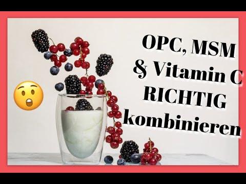 ⚠️ OPC, MSM, Vitamin C RICHTIG kombinieren - Darf man alles zusammen einnehmen? Wann nimmt man was?