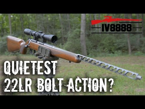 Quietest 22LR Bolt Action? CZ455 Ticho from KGMade