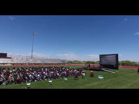 DVHS Desert View High School 2019 graduation practice,  (SUSD)