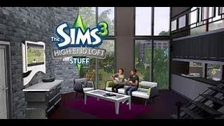 tutorial game cara instal game The Sims 3 High End Loft Stuff