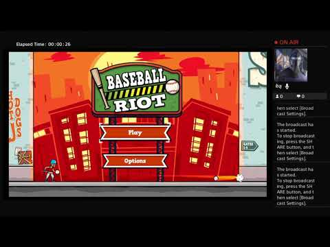 Baseball Riot...My First Try |