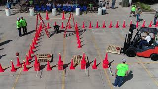 2018 Ultimate Forklift Challenge at McCoy's Building Supply