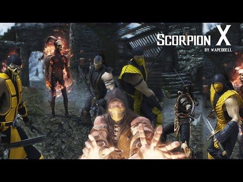 Mortal Kombat Scorpion X Skyrim Mod