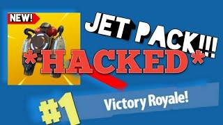 J'ai trouvé LE NOUVEAU JET PACK IN Fortnite ET GOT HACKED!!! (PAS CLICKBAIT)