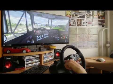 ETS2 with Logitech Driving Force GT Hungary MOD Vezetgetés :D