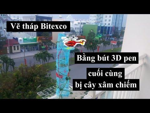 Vẽ tòa tháp Bitexco bằng bút 3D pen I Tớ là Việt !!!