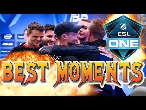 ESL ONE COLOGNE 2016 - BEST MOMENTS | DAY 3
