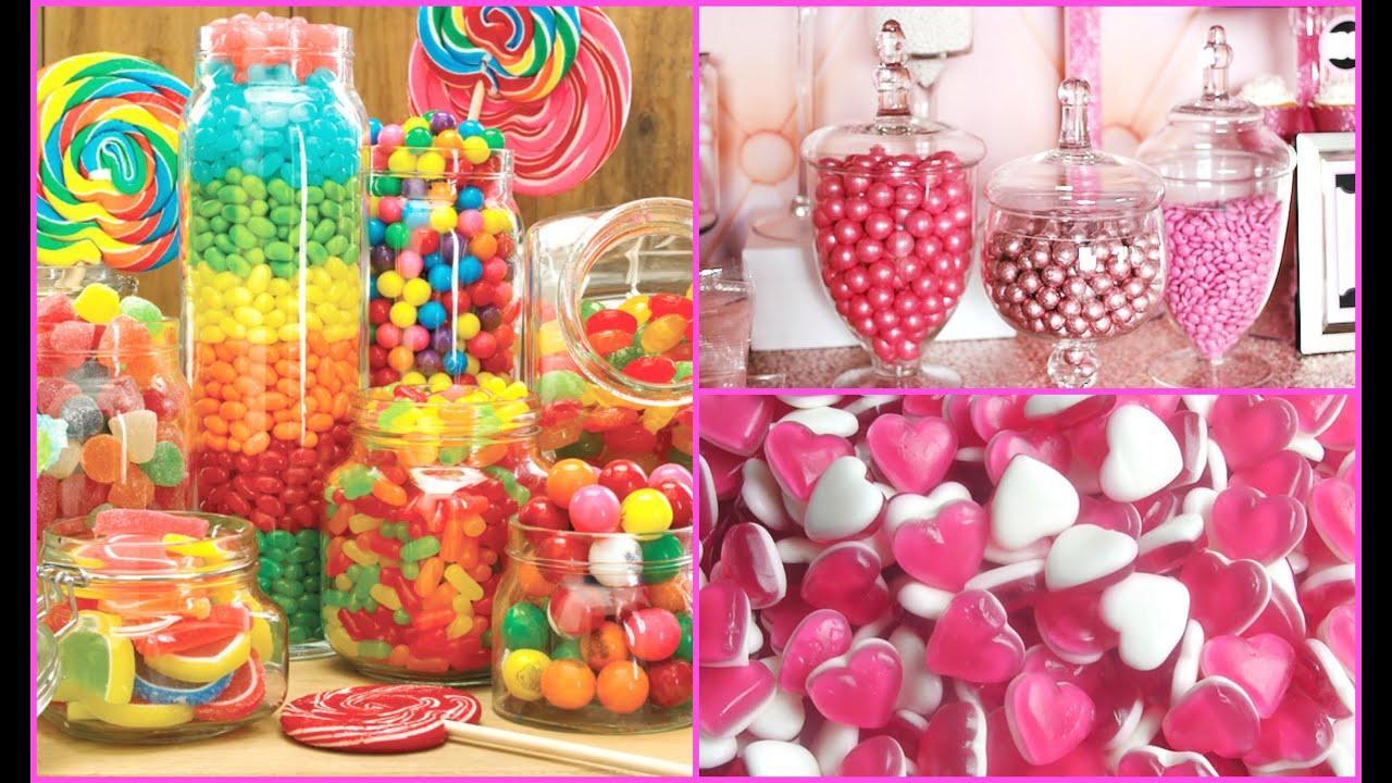 Candy jar decorating ideas for Cheap homeware decor