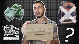 Αγοράζω το πιο φθηνό πράγμα από BURBERRY | Tsede The Real