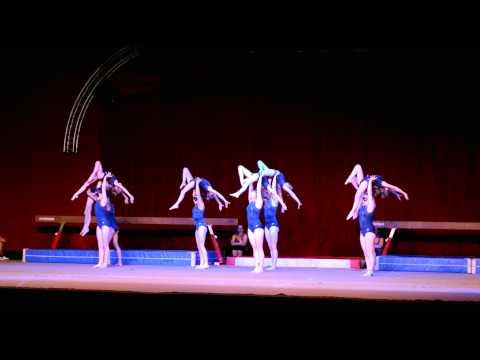 Turn & Dansshow Olympos Lint 2015