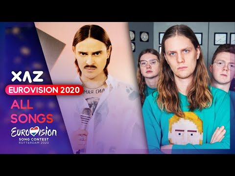 Eurovision 2020: Recap Of All Songs