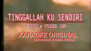 nike ardila - tinggal aku sendiri (karaoke original)