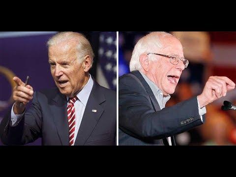 2020: Bernie Sanders vs Joe Biden