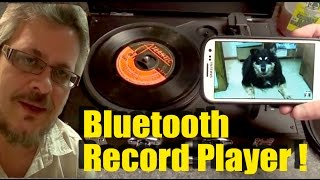 What Would Thomas Edison Think of this Bluetooth Record Player ?