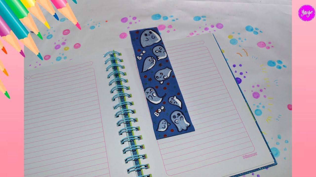 Ideas Para Decorar Cuadernos Cómo Dibujar Separadores De Cuadernos Yaye