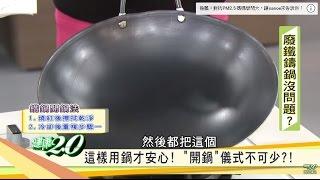 必看!譚敦慈老師的「鐵鍋開鍋法&養鍋法」大公開!健康2.0