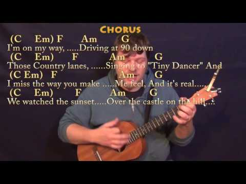 Castle On The Hill Ed Sheeran Bariuke Cover Lesson In C With