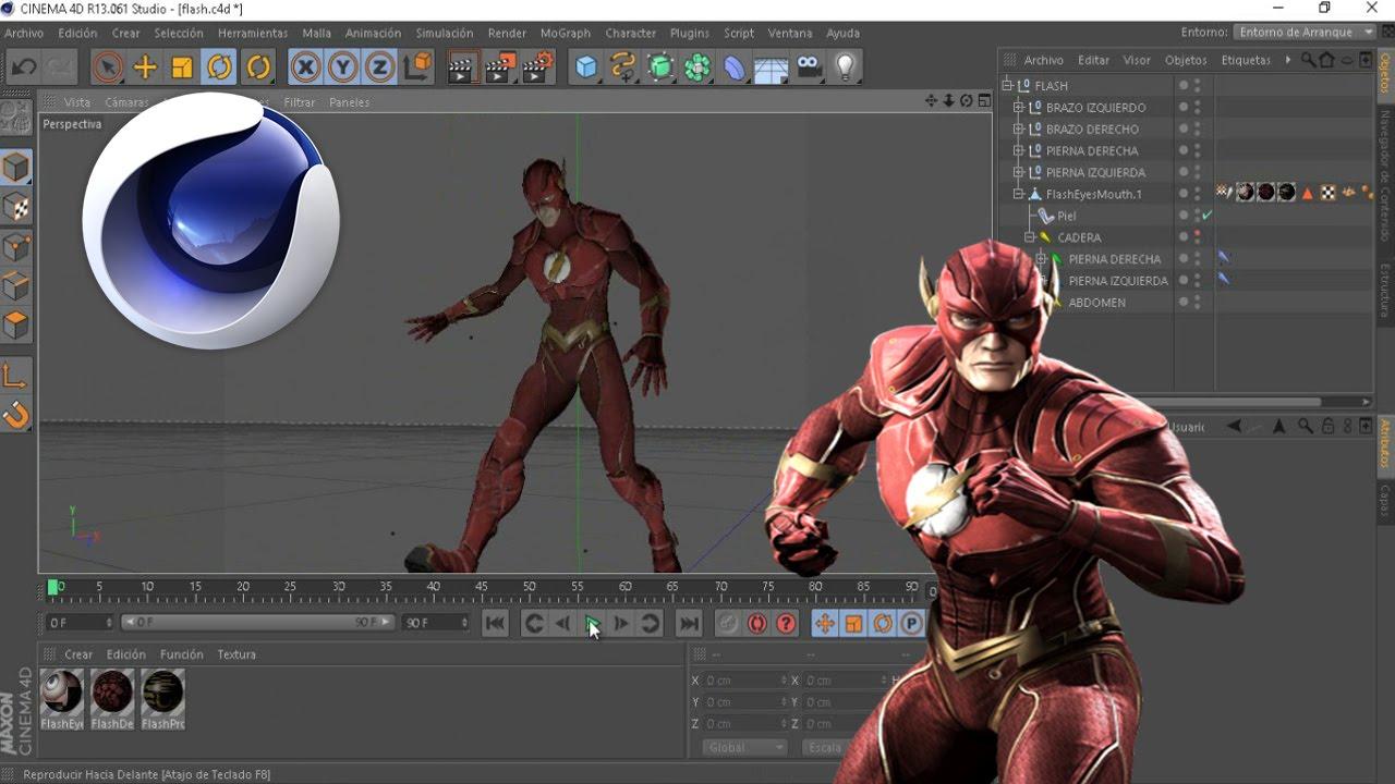 Flash Rig C4d