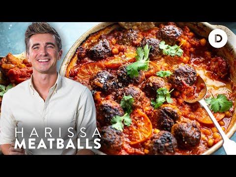 EASY Harissa Meatballs!