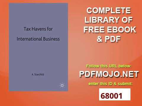 Tax Havens for International Business