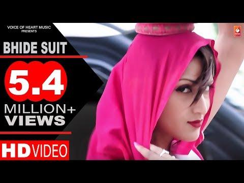 BHIDE SUIT   Latest Haryanvi Songs 2017   Neeraj Madothi, Miss Ada, TR, Ruchika Jangid