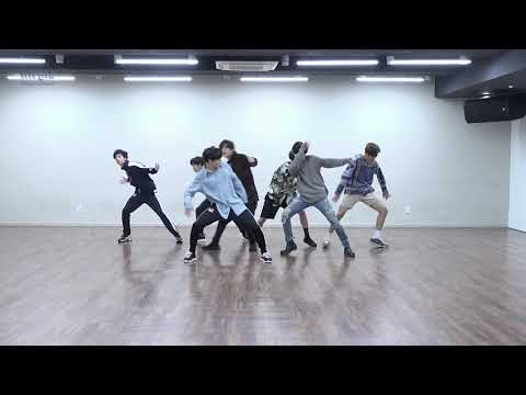 [mirrored & 50% Slowed] BTS - FAKE LOVE Dance Practice