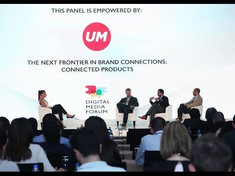 UM MENA Panel Discussion at the Digital Media Forum 2015
