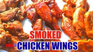 Smoked Chicken Wings - How To Get Them Crispy!