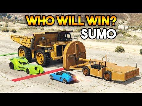 GTA 5 ONLINE : SUMO (WHO WILL WIN? )