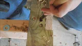 Building A New Workbench Part 12 - Mounting The Vise - By Old Sneelock's Workshop