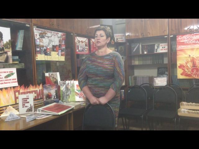 Изображение предпросмотра прочтения – ВалентинаВоскобойникова читает произведение «Баллада о седых» Э.А.Асадова