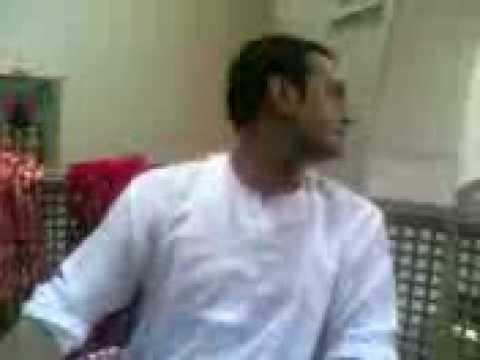 Imran Raza  Shahood Alvi .on set ghusaa