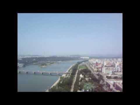 Juche Tower in North Korea (DPRK)