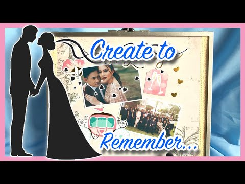 Romantic Personalized Wedding Gift Tutorial | Wedding Vlog