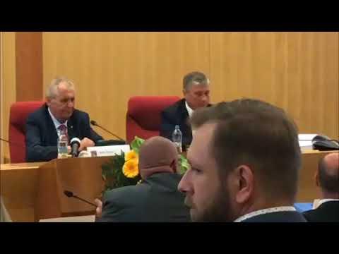 Miloš Zeman, 1. den návštěvy v MS kraji II.  část