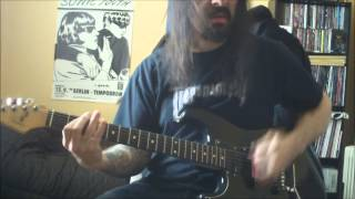 Ministry -  N.W.O - guitar cover - full HD