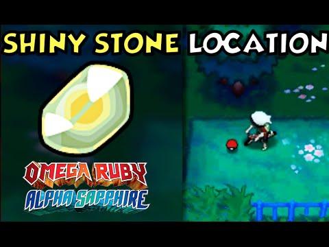 Where How To Obtain A Shiny Stone 2 Ways In Pokemon