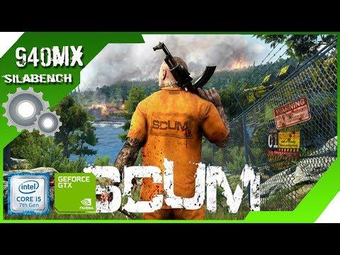 SCUM | Surprising Performance on Geforce 940MX - i5 7200u - 8GB Ram